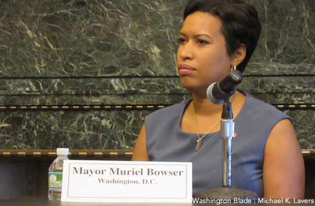 Bowser Describes D.C. As 'Open City' During DNC Panel