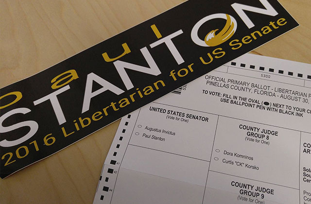 Libertarian Votes Matter in Aug. 30 Primary