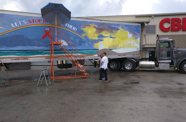 Mobile Mural Looks to Bring Attention to HIV/AIDS