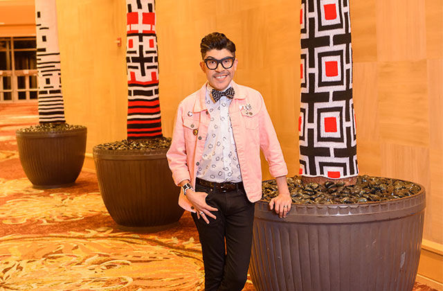 HIV Positive Project Runway Winner Reveals New Art Installation in SoFlo