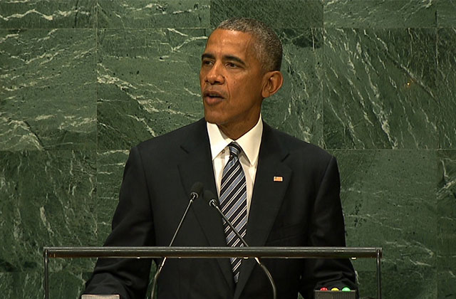 Obama Calls For Kinder World In Final UN Address