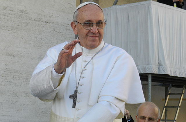 Pope Backs Opposition to Mexico Gay-Marriage Proposal