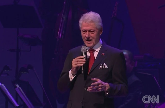 The Clintons Rally with Broadway Legends for Multimillion-Dollar Fundraiser