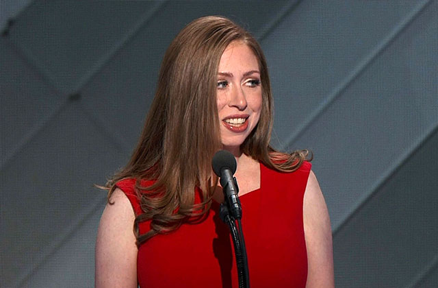 Chelsea Clinton speaks with PGN