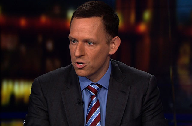 Gay Billionaire Peter Thiel to Donate $1.25M to Trump