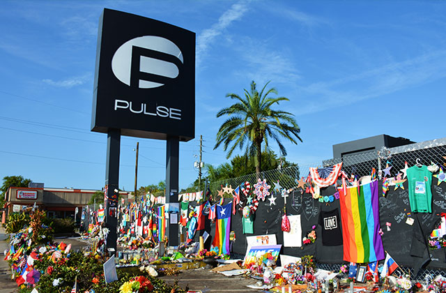 Interim Memorial Opens in Fla. for 49 Killed at Pulse Gay Club