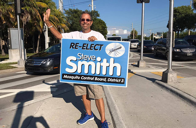 Smith Ousted From Mosquito Control Board