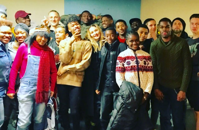 Madonna, Lady Gaga Visit LGBT Youth Shelter Over Thanksgiving