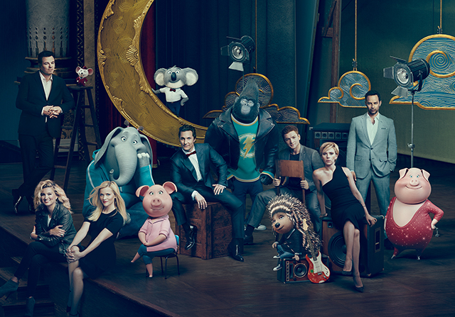 "Illumination Entertainment's new ""Sing"" boasts a star-studded cast"