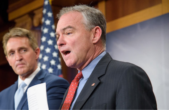 Sen. Kaine Introduces Bill to Protect LGBT Kids From Child Abuse