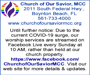 Church of Our Savior Side Banner October 2021