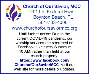 Church of Our Savior Side Banner 1 July 2020