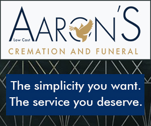 Aarons Cremation Test Side Banner