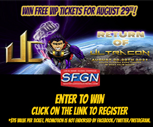 SFGN Ultracon Ticket Giveaway