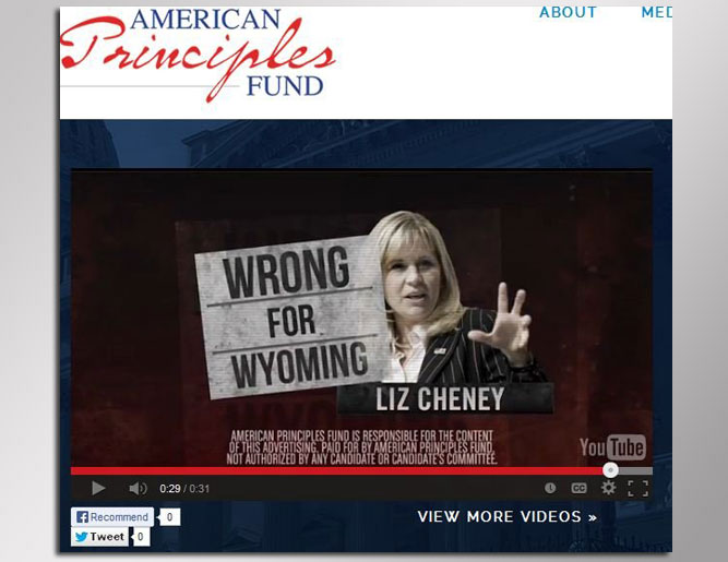 Liz Cheney Under 'Values' Attack in Wyoming Senate Race ...