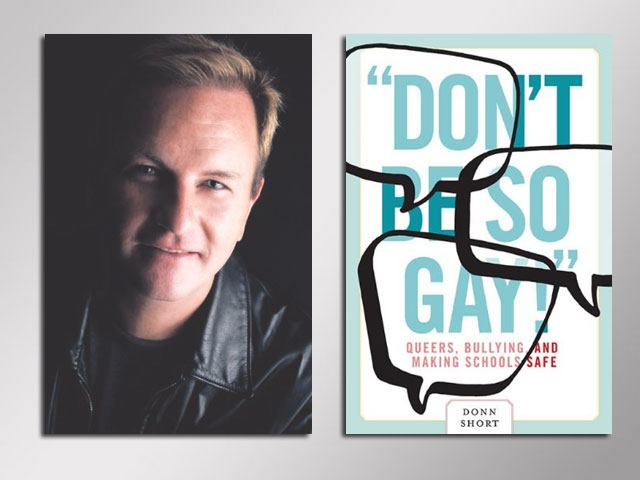 Book Review: 'Don't Be So Gay' by Donn Short