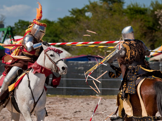 The pageantry and passions of times long past are celebrated at the Florida Renaissance Festival, weekends through March 16 at Quiet Waters Park in Deerfield Beach. Credit: Joe Camosy