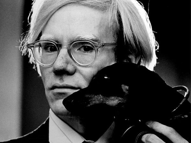 Andy Warhol, by Jack Mitchell [CC-BY-SA-3.0-2.5-2.0-1.0 (http://creativecommons.org/licenses/by-sa/3.0)], via Wikimedia Commons