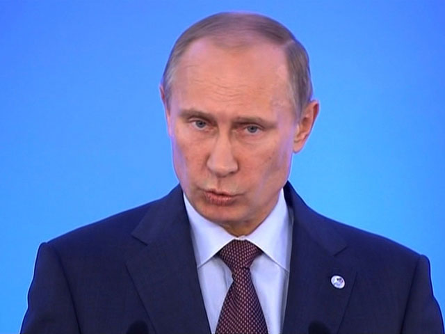 Putin Says Gay People 'Live in Peace' in Russia, Condemns US Laws