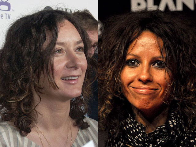Sara Gilbert Pregnant With Linda Perry's Baby