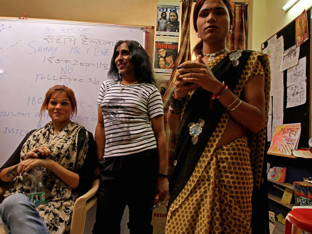 "India's transgender community can now hope for a better future after it was recently granted an official ""third gender"" status. Credit:Omar Khan/CNN"