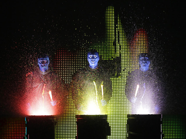 The Blue Man Group brings its distinctive form of entertainment to Miami's Arsht Center, May 13 – 18. Credit: Paul Kolnik