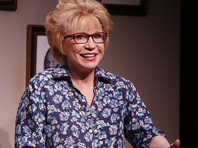 Debra Jo Rupp stars the iconic sex therapist Dr. Ruth Westheimer in a new one-woman play at the Parker Playhouse this week. Credit: Carol Rosegg