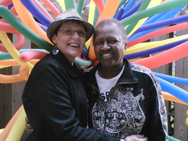On November 27, 2013, Ewert and Vernita Gray, her partner of five years and one of Chicago's most steadfast gay rights activists, were granted an expedited marriage license by a federal judge. It was the state's first legally recognized same-sex marriage, and there was a purpose to the haste: Gray's breast cancer had metastasized in her sternum and eventually, her brain. (CourtesyPat Ewert & Vernita Gray)