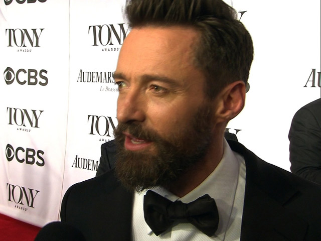 Bouncing, Rapping Hugh Jackman Delivers Host Of Tony Surprises