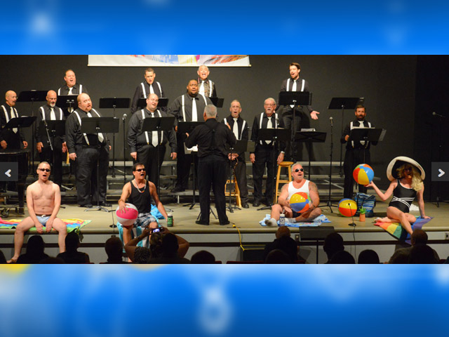 Gay Men's Choruses Sing with Pride; First Concert June 14