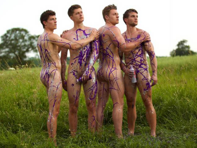 Naked Rowers Raise Money to Fight Homophobia