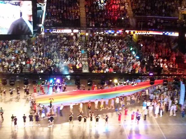 Gay Games 9 Opening Ceremonies Welcome Thousands to Cleveland