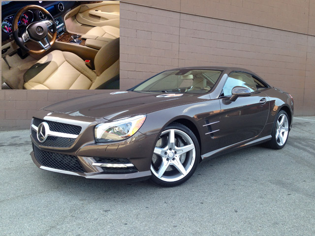 Car Review: 2014 Mercedes-Benz SL550