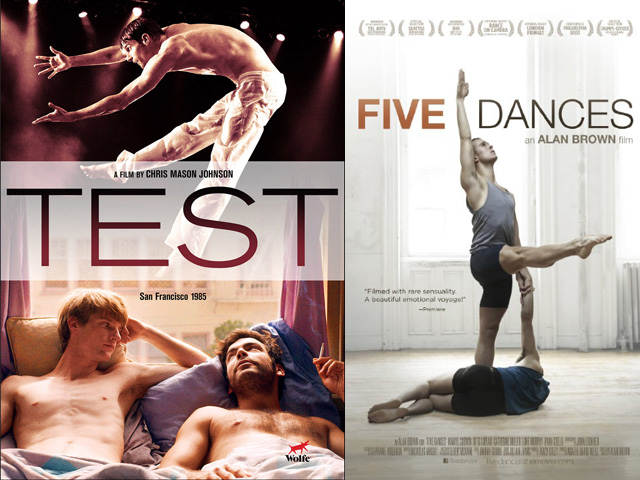 New Films 'Test' and 'Five Dances' released on DVD,