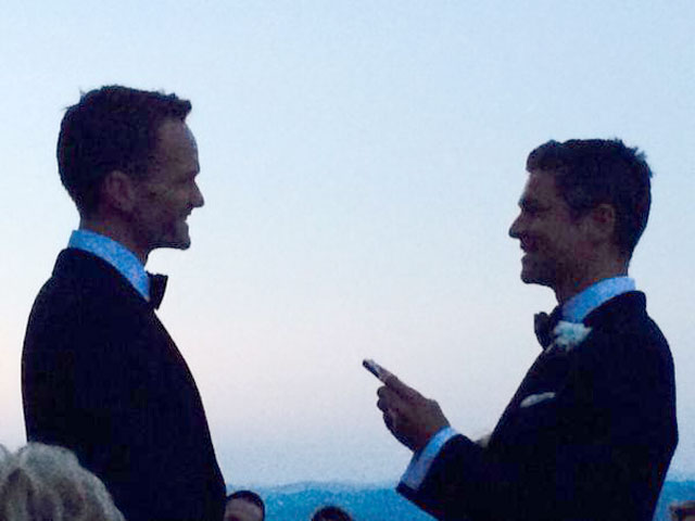 Neil Patrick Harris Marries in Italy