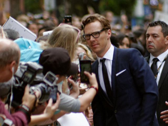 Cumberbatch Honored At UK Independent Film Awards