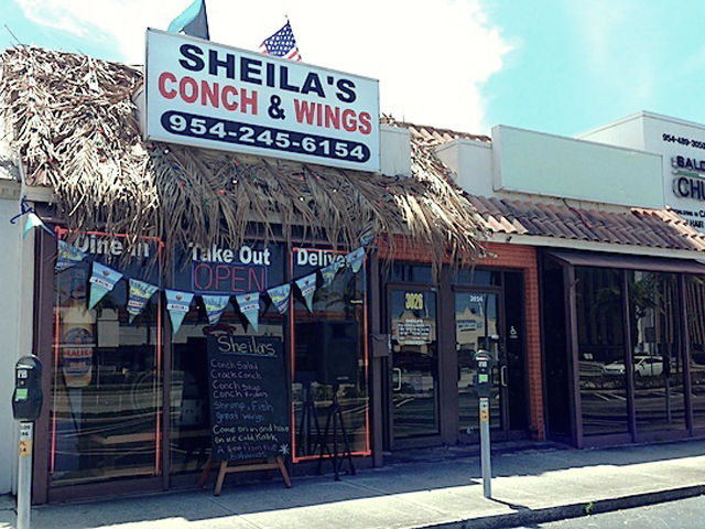 OutEats: Sheila's Conch & Wings