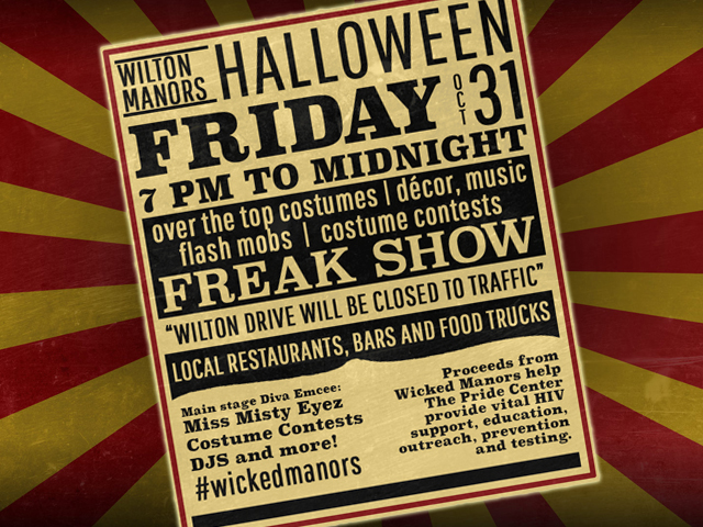 Wicked Manors on Friday with Freak Show Theme, Flash Mob and Misty Eyez