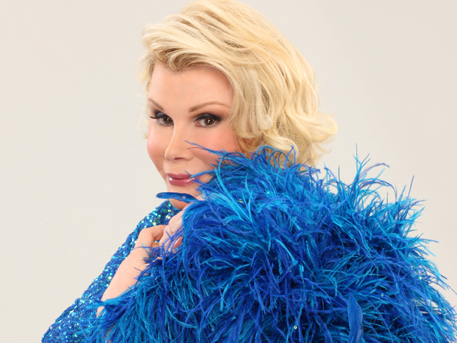 Can We Talk? Joan Rivers Stood Up for People With AIDS
