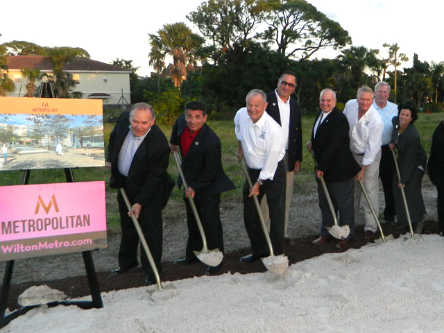 Metropolitan Breaks Ground in Wilton Manors