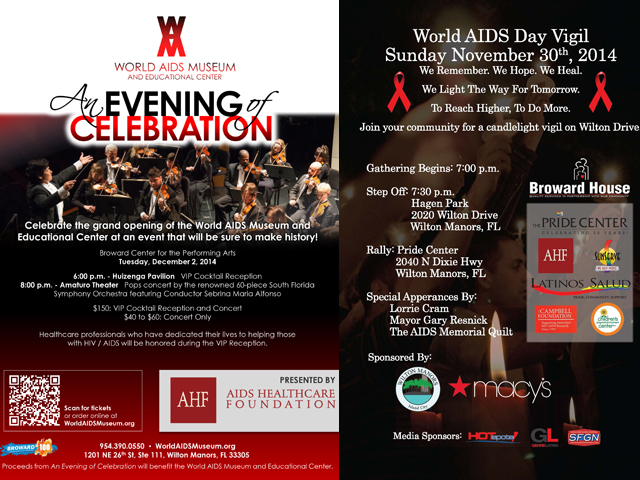South Florida Commemorates World AIDS Day