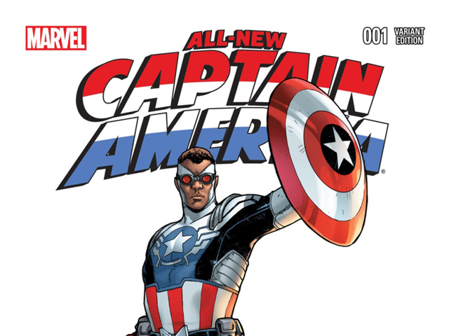 Black Captain America Leads Comic Book Diversity