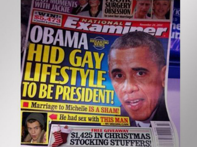 Tabloid Claims Obama Had Gay Affair With 1D's Harry Styles