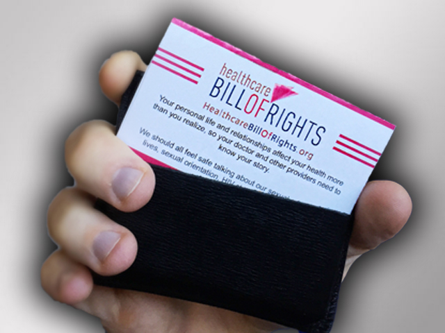 Our Very Own LGBT Healthcare Bill of Rights
