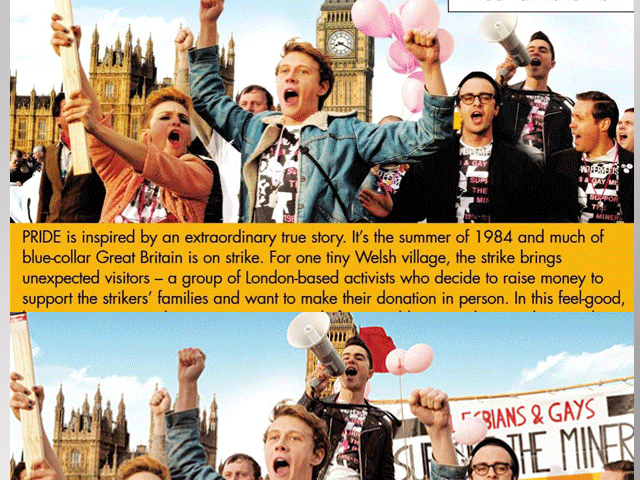 'Pride' DVD Cover 'De-Gayed' in US?