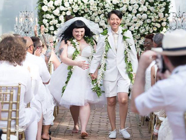 Singer Beth Ditto Legally Marries Partner 1.5 Years After Ceremony