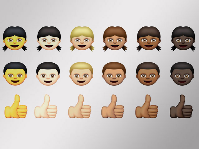Emojis Diversify In Apple's Newest Update