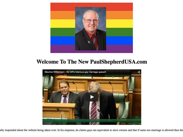 Anti-Gay Idaho Lawmaker's Website Gets Big Gay Makeover