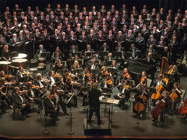 Chorus Teams Up with Symphony for Masterworks, Pops Concerts