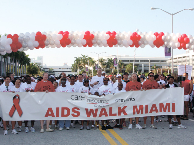 AIDS Walk Miami - A Time To Reflect and Refocus